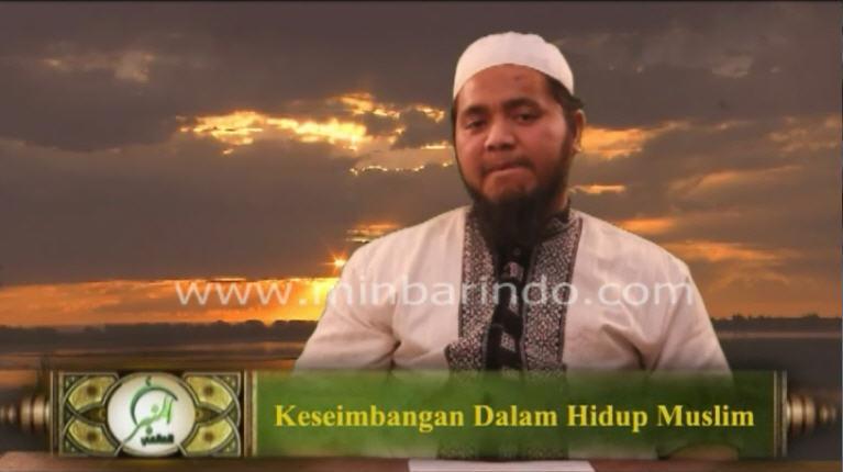 Keseimbangan Dalam Hidup Muslim