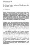 Tawhid and Trinity A Study of Ibn Taymiyyah's al Jawab al sahih