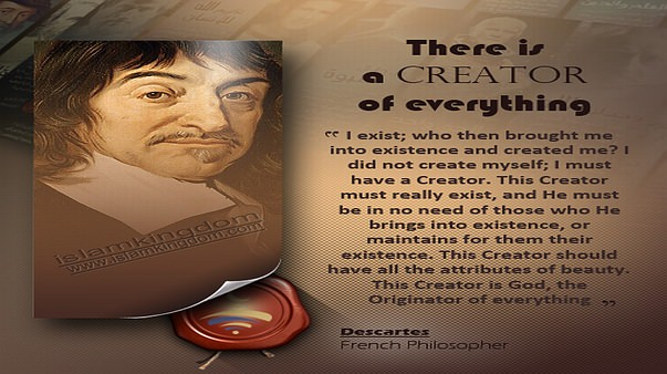 There is a Creator of everything
