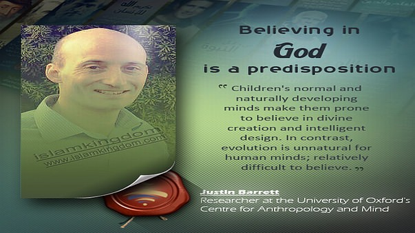 Believing in God is a predisposition