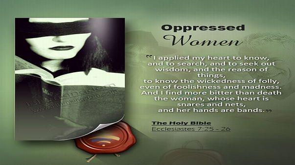Oppressed women
