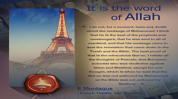 It is the word of Allah