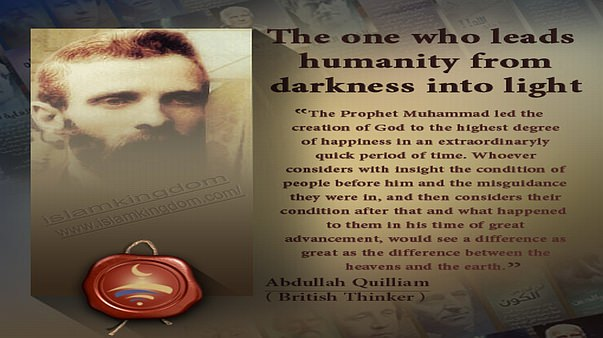 The one who leads humanity from darkness into light