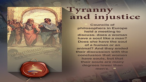 Tyranny and injustice