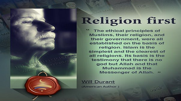 Religion first