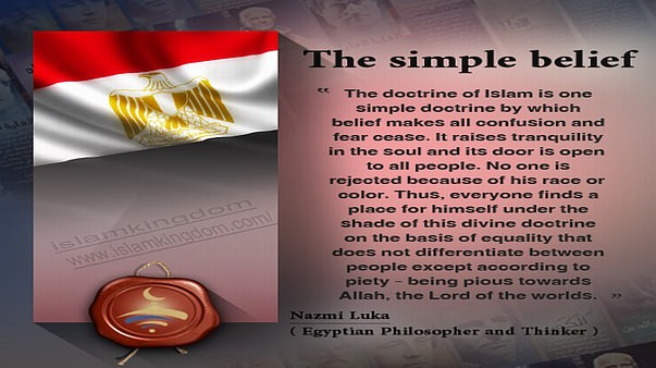 The simple belief