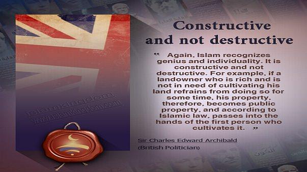 Constructive and not destructive