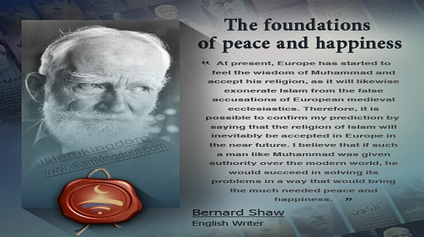 The foundations of peace and happiness