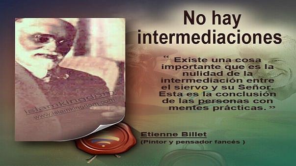 No hay intermediaciones