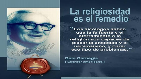 La religiosidad es el remedio
