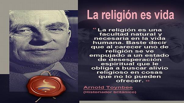 La religión es vida
