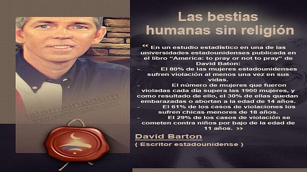 Las bestias humanas sin religión