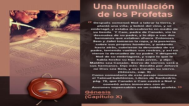 Una humillación de los Profetas