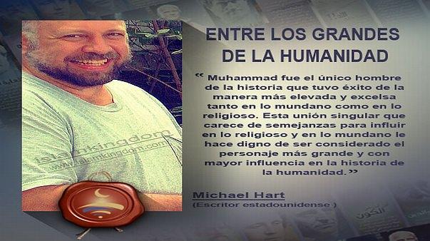 ENTRE LOS GRANDES DE LA HUMANIDAD