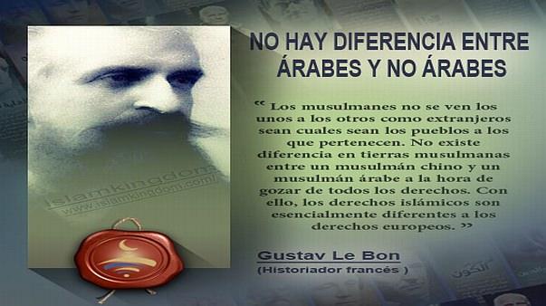 NO HAY DIFERENCIA ENTRE ÁRABES Y NO ÁRABES