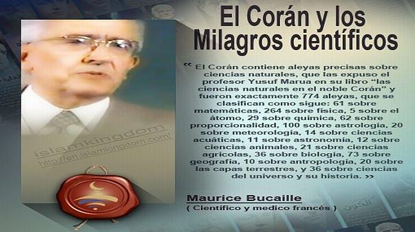 El Corán y los Milagros científicos