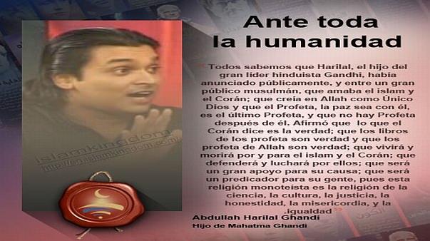Ante toda la humanidad