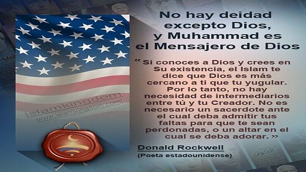 No hay deidad excepto Dios, y Muhammad es el Mensajero de Dios