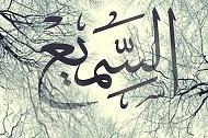 अल्लाह तआला अस्समी और अल बसीर है..